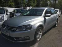 2012 Volkswagen Passat 1.6 TDI Bluemotion Tech S 5dr 5 door Estate