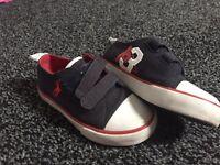 Ralph Lauren Navy Shoes kids size 8
