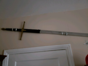 Collectors broad sword