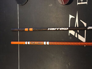 Two Brand New Harrow Lacrosse Shafts