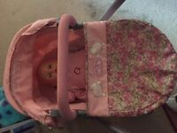 Baby Annabelle buggy and car sit