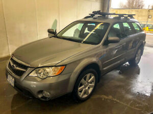 2008 SUBARU OUTBACK WITH 2 YR WARRANTY