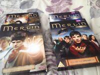 Merlin dvds