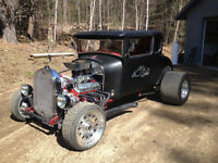 1929 Ford 5 window coupe