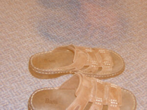 BASS MENS LEATHER SANDALS SIZE 7