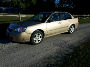 2006 Chevy Malibu.. Low km's!! Excellent Condition