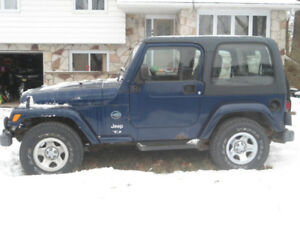2003 Jeep TJ rocky mountain SUV, Crossover