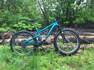 2016 salsa bucksaw full suspension fat bike