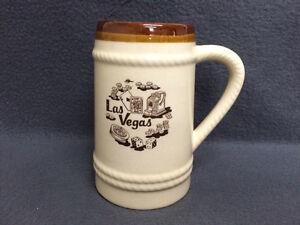 Collectible Antique Las Vegas Beer Stein