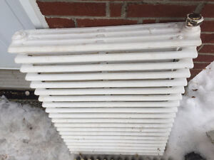 Cast Iron Radiators - just removed from my home -great condition