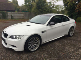 BMW M3 4.0 DCT Competition Package 2010 / 10 Reg / Mineral White / £9k Options