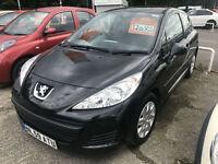 59 REG Peugeot 207 1.4 ( a/c ) S IN BLACK