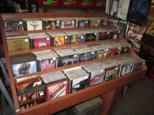 THOUSANDS OF ROCK CD&'; CASSETTES FOR SALE!!