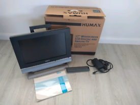 "Humax TV / Monitor 17"" inch"