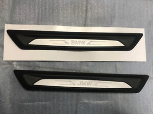 BMW Door Sill Plated LED NEW ORIGINAL 51472408857