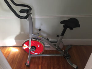 Sunny health and fitness spin bike