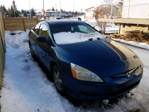 2003 Honda Accord Coupe EX-L Fully Loaded 160km Winter Ready