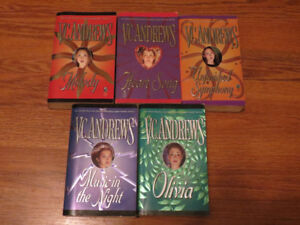 VC Andrews the Logan Series Book Lot of 5