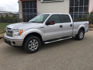 2013 FORD F-150 XTR VERY CLEAN, LOW KM, PRICED TO SELL QUICKLY!!