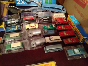 Original Matchbox, Schuco, 55 pieces