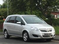 Vauxhall/Opel Zafira 1.6i 16v 2008MY Breeze,1 OWNER FROM NEW,FULL MOT