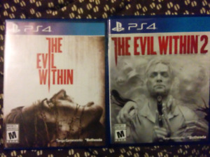 The Evil Within 1 & 2 PlayStation 4