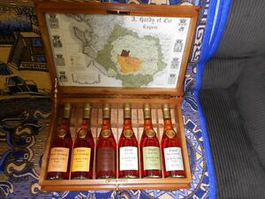 A.HARDY COGNAC COLLECTION 1863 - 1988