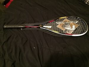 Never used Black Knight squash racquet