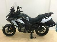 Kawasaki Versys 1000 se with tourer kit,21 reg, in white/black.