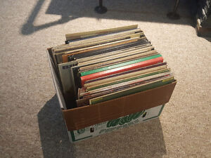75 vinyl records! Older jazz/ blues. Great shape.
