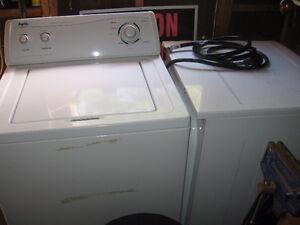 laveuse  et  sécheuse