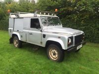 Land Rover defender 110 2.4tdci puma county pack utility 3500 4x4 08reg no vat!!!