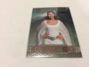 2014Topps Star Wars Chrome Perspectives Refractor2R Leia Organ