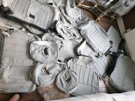 MITSUBISHI shogun leather seat covers Interior
