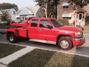 2003 Gmc seirra 3500 tow truck wrecker