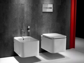 Roca Element Wall hung toilet pan 346577000 with soft close seat