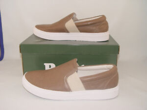 Genuine Leather Roots Walking Shoe Taupe Color Size 9