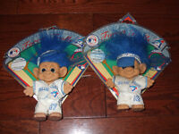 blue jays trolls  set of two