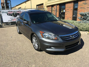 2011 HONDA ACCORD EX-L 3.5L LEATHER/POWER/SUNROOF/BLUETOOTH