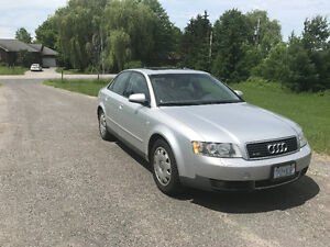 FOR SALE 2003 Audi A4 Quattro-1 owner only