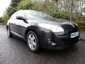RENAULT MEGANE 1.5 dynamique ttom dci 2010 Diesel Manual in Black