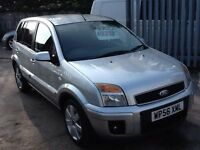 Ford Fusion 1.4 NEW MOT,ECONOMICAL,LOW MILES FOR YEAR,SERVICE HISTORY