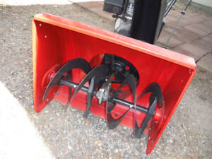snowblower -- still as  new  condition ...... 5 h.p. 24 in.