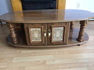 Various Antique Solid wood tables