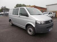 Volkswagen Transporter 2.0 Tdi 84Ps Kombi Van DIESEL MANUAL SILVER (2013)