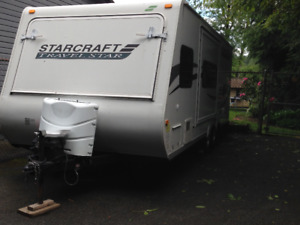 2010 23' Travel Trailer (Travel Star by Starcraft) LIKE NEW!