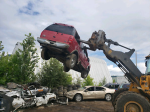 Cash for junk cars / scrap car removal Edmonton