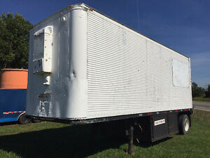 SECURE STORAGE TRAILER