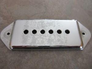 1971-72 Chrome Gibson Embossed P-90 Cover