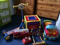 Scooter, ride-on car & other toys 1-2yrs